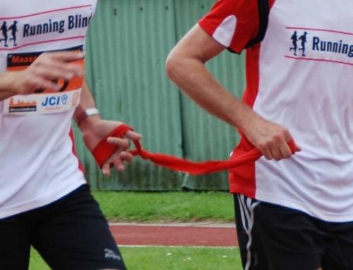 Running Blind doet mee aan de Vechtloop